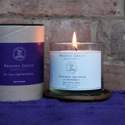 Brooke Green Remedies Wild Rose Luxury Large Candle