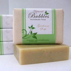 Natural Bubbles Gardener's Soap 100g