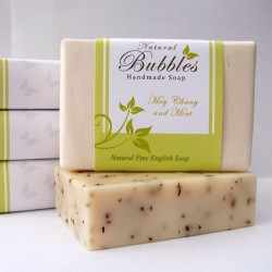 Natural Bubbles May Chang & Mint Soap 100g