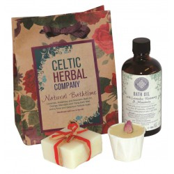 Celtic Herbal Company Natural Bathtime Gift Set
