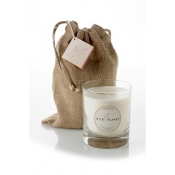 Wild Planet Limelight Scented Candle in Jute Bag 200g