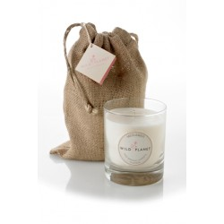 Wild Planet Midsummer Scented Candle in Jute Bag 200g