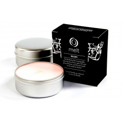 Melt Candles - Brushed Silver Tin - Blush