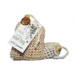 Labyrinth Sisal Soap Bag Wild Lavender 180g