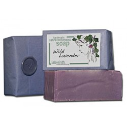 Labyrinth Soap Slice Wild Lavender 100g