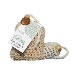 Labyrinth Sisal Soap Bag Lime, Clove & Cinnamon 180g