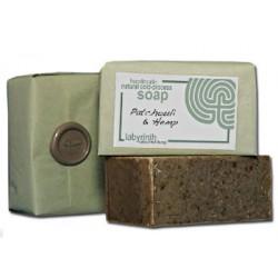 Labyrinth Soap Slice Patchouli & Hemp 100g