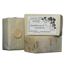 Labyrinth Soap Slice Sunflower & Calendula 100g